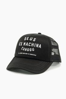 DEUS Canggu Address Trucker Cap Black