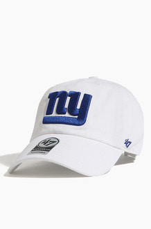 47BRAND NFL Clean Up Giants White