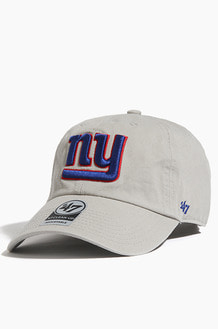 47BRAND NFL Clean Up Giants Grey