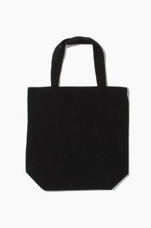 PLAIN Canvas Eco Bag Black