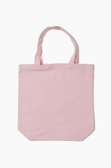 PLAIN Canvas Eco Bag  Light Pink