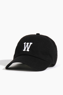 Warf Bone Logo Cap Black