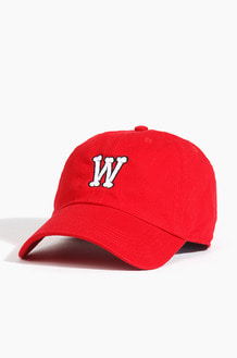 Warf Bone Logo Cap Red