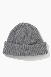 Plain Beanie Standard Grey