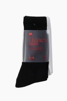 Hanes Basic Socks 2Pack White/Black