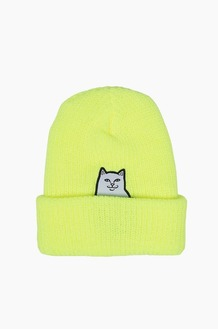 RIPNDIP Lord Nermal Rib Beanie S.Yellow