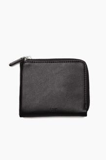 OBEY Gentry Jumble Harf Zip Wallet Black