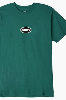 OBEY Galleria S/S Teal