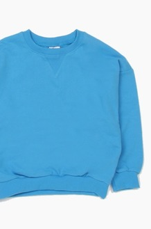 Plain Kids Crew Blue