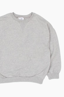 Plain Kids Crew Grey
