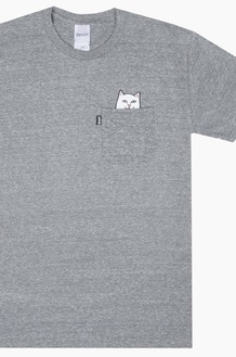 RIPNDIP Lord Nermal Pocket S/S Grey