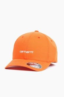 CARHARTT-WIP Script Cap Pepper/White