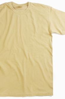 COMFORT COLORS Basic S/S Mustard