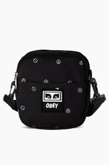 OBEY Drop Out Traveler Bag Symbol Black