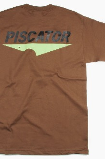 PISCATOR 19 Core Logo s/s Brown
