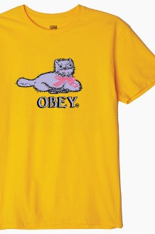 OBEY Kitty S/S Gold
