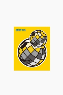 FRESHCUT Disco Ball Sticker Medium 007
