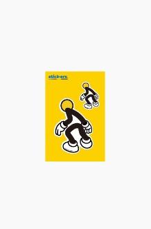 FRESHCUT Baldman Sticker Small 008