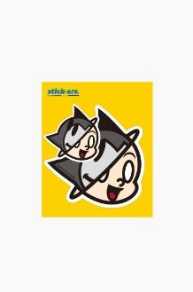 FRESHCUT Atom Sticker Medium 006