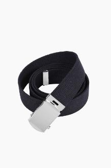 ROTHCO Military Web Belt Black/Silver