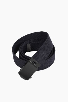 ROTHCO Military Web Belt Black/black