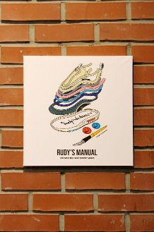 RUDYINDAHOUSE Rudy's Manual Artwork Canvas Max 35x35