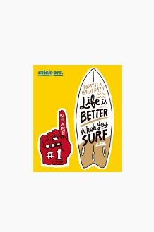 STICK-ERS ONE LIFE Medium 032