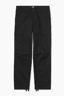 CARHARTT-WIP Regular Cargo Pant Columbia Black Rinsed
