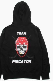 PISCATOR Ice Hockey Helmet Hoodie Black