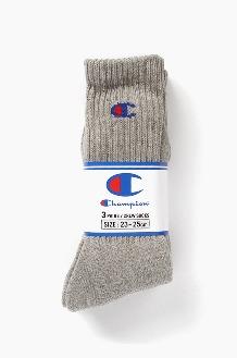 CHAMPION Champion Basic Socks 3Pack Grey