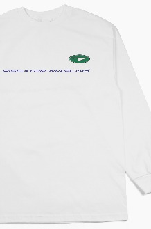 PISCATOR Marlins L/S White