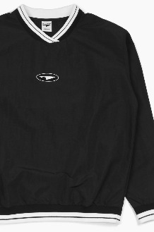 PISCATOR Coach's Pullover Black