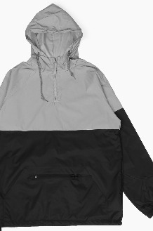 BEIMAR Two-Tone Reflective Anorak