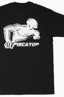 PISCATOR Running Back S/S Black