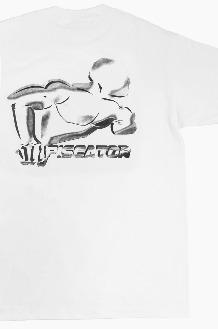 PISCATOR Running Back S/S White