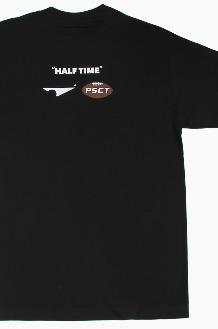 PISCATOR Half Time S/S Black