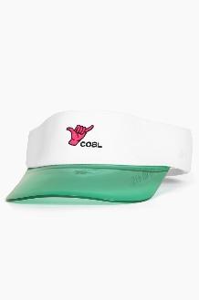 COAL 20SS Sandy Visor White