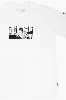 HARDHITTERS The Art Drop Scarface S/S White