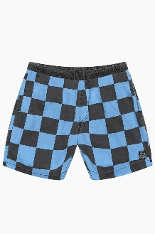 DEUS Sandbar Check Mesh Shorts Blue