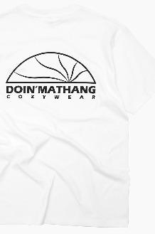 DOIN'MATHANG Half Logo S/S White