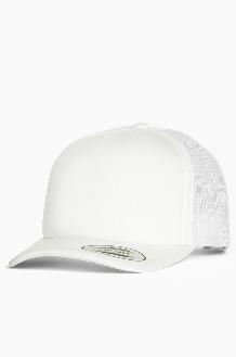 YUPOONG Classic Foam Trucker Cap White