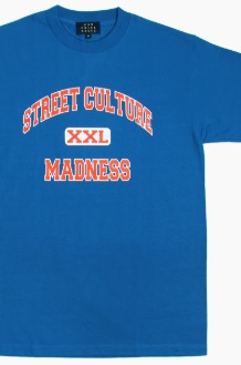 MAD PRIDE POSSE Street Culture Madness S/S Royal