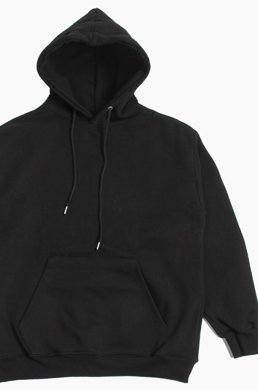 BLUE WORKERS Basic Hood Black
