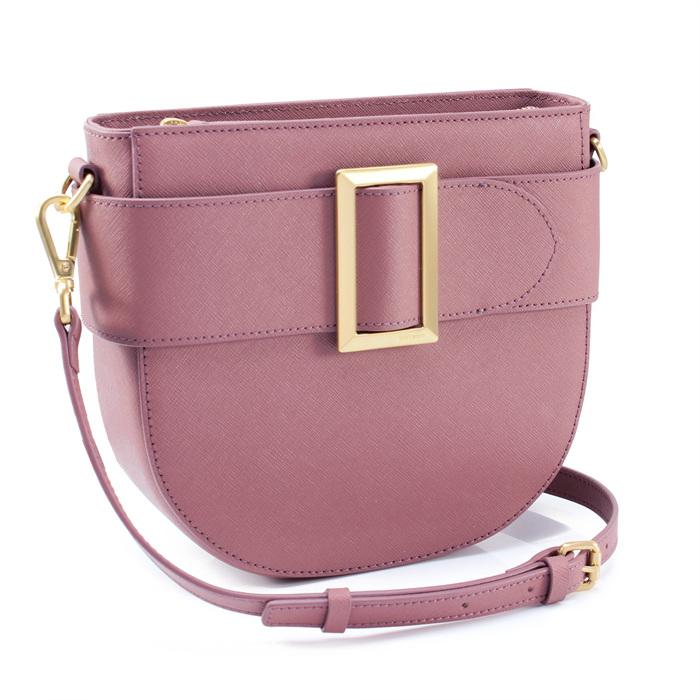 세인트스코트 위트니 하프문 숄더백 RDPP1591 딥 퍼플 핑크