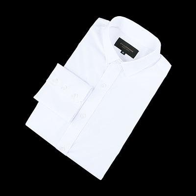 83241 프리미엄 배색 포인트 셔츠 (2Color)