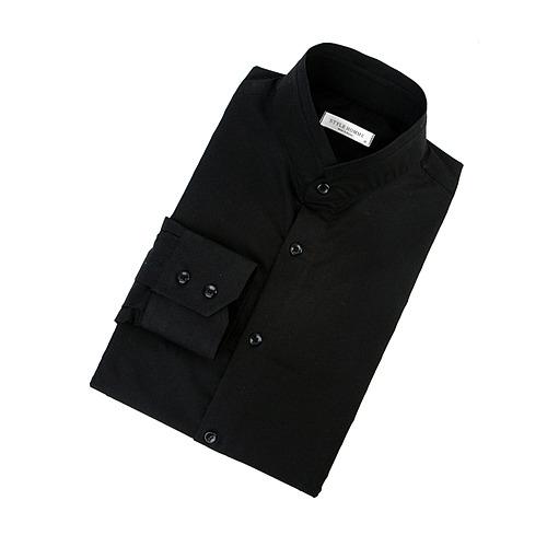 87573 No.58-a 프리미엄 차이나 셔츠 (Black)