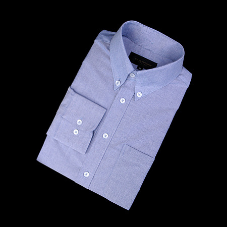 87255 TH 완장 테이프 셔츠 (Blue)