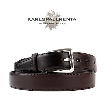 -K.S- 88772 italy real leather 리얼태닝 캐쥬얼 벨트 (Dark Brown)