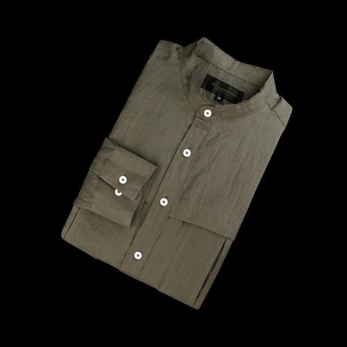 88014 BA 린넨 차이나 셔츠 (2color)