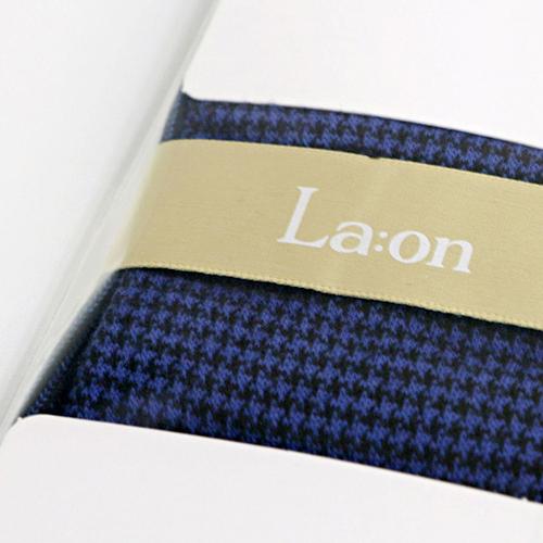 -La:on-92463 Hound Tooth Check Socks (4Color)